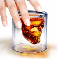 *** Crystal Skull Shot Glass***